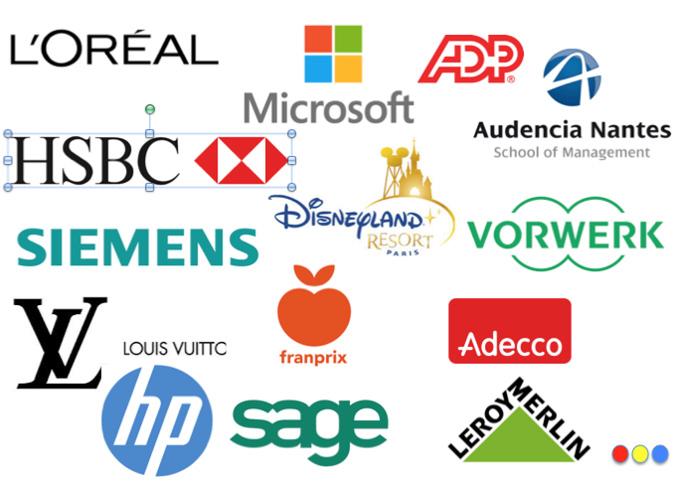 Logos des clients